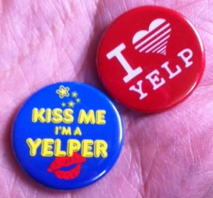 yelp buttons