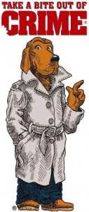 McGruff drawing