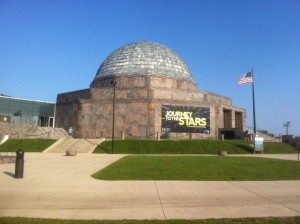 Adler Planetarium in Chicago, external view of building