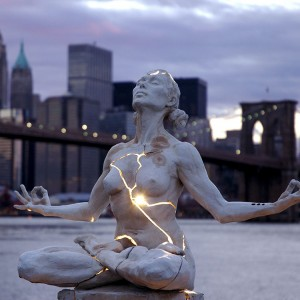 "Paige Bradley's sculpture ""Expansion"""