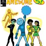 Webcomic magazine Awesome 5! by Lorenzo Ross