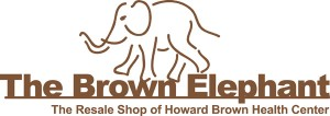 logo for Brown Elephant resale shops