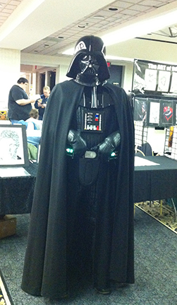 And of course, Lord Vader.