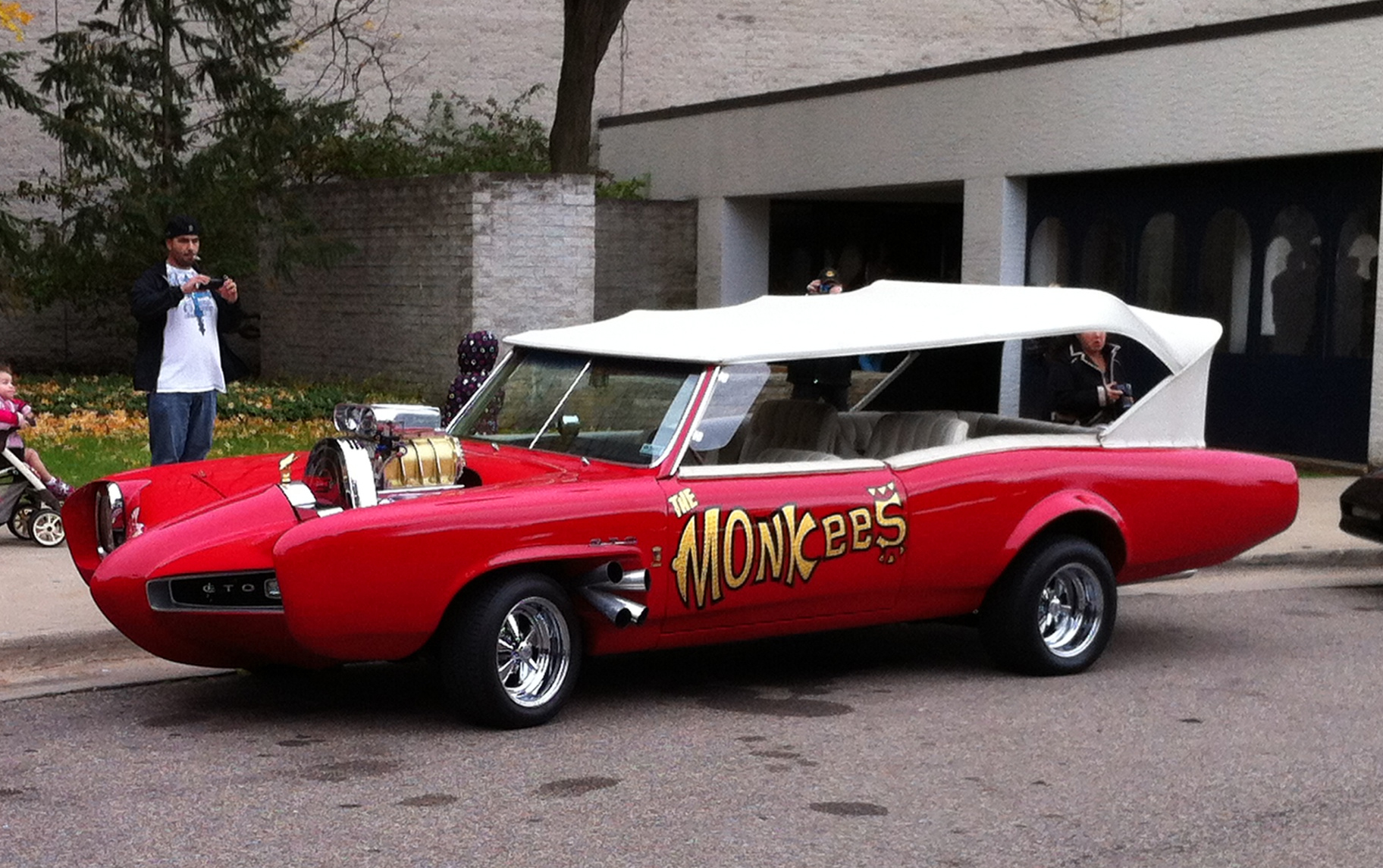The Monkees were supposed to be broke right? So how come they had a house on the beach and drove this tricked out car?
